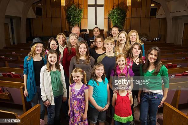 Kirche zusammen