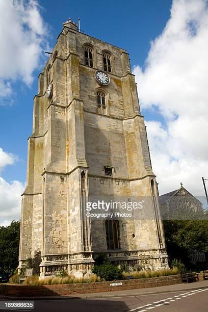 Church tower Beccles Suffolk England