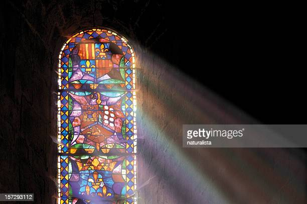 church window - church stock pictures, royalty-free photos & images