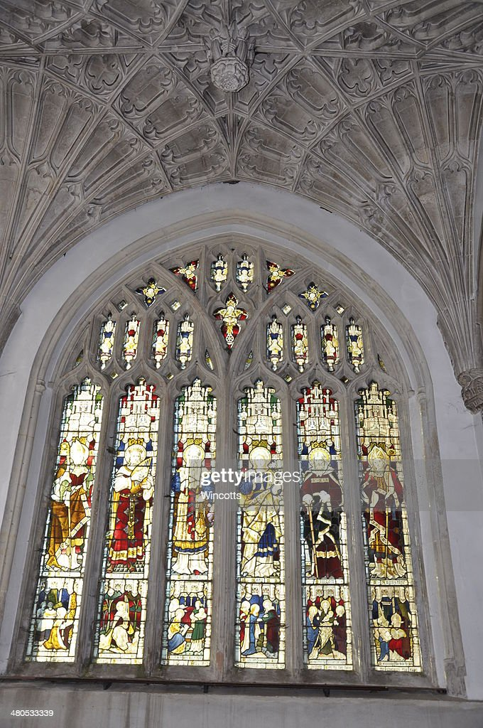 Church Window : Stock Photo