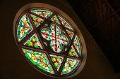 Church windows,South Island New Zealand