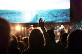 Church Worship Crowd