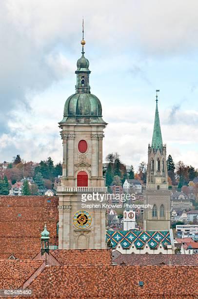 Churches of St Gallen