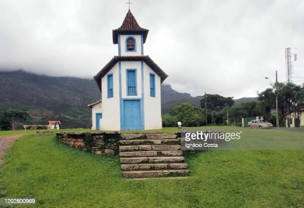 churches of the city catas altas - chapel - fotografias e filmes do acervo