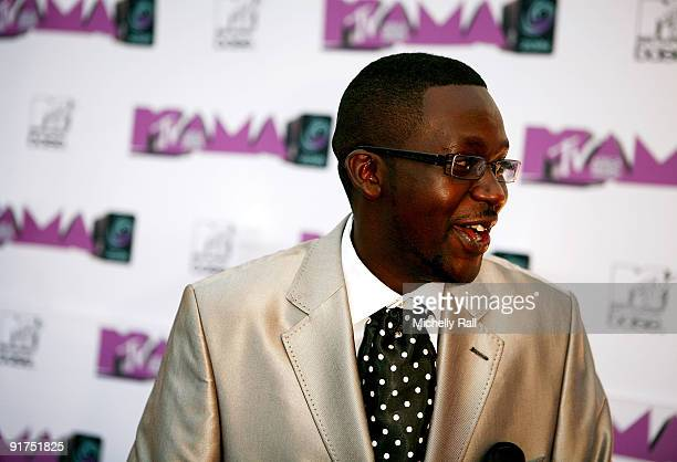 Churchill a stand up comedian from Kenya at the MTV Africa Music Awards with Zain at the Moi International Sports Centre on October 10 2009 in...