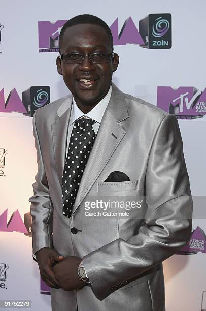 Churchill arrives at the MTV Africa Music Awards with Zain at the Moi International Sports Centre on October 10 2009 in Nairobi Kenya