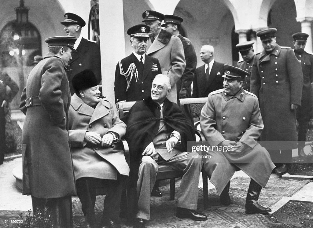 Churchill Fdr And Stalin Pictures Getty Images