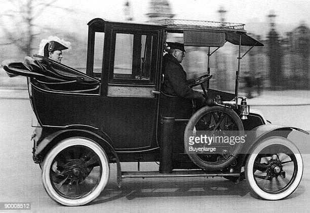 Churchill in Car London