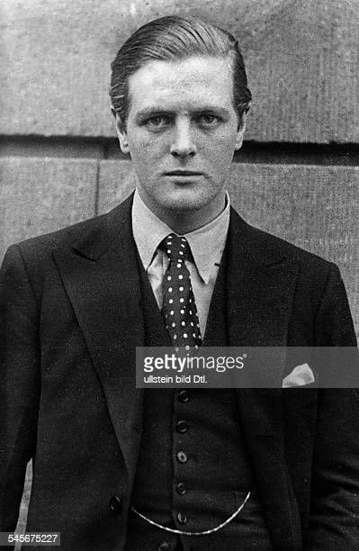 Churchill, Randolph - Journalist, Politician, Great BritainRandolph Frederick Edward Spencer Churchill*-06. 06.1968+- son of Winston Churchill- in...