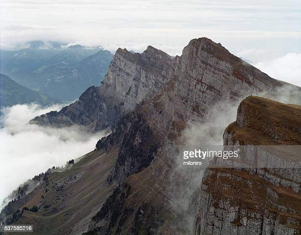 churfirsten - miloniro stock pictures, royalty-free photos & images