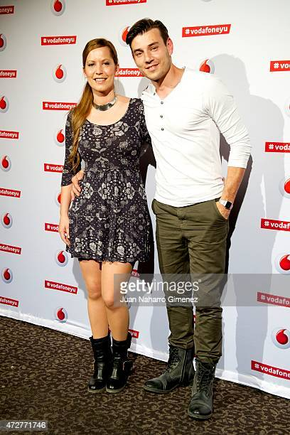 Churi Gonzalez and Javier Amaro attend Maldita Nerea concert during Vodafon Yu Music Shows at La Riviera on May 9 2015 in Madrid Spain