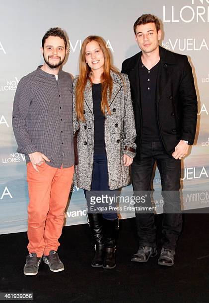 Churi Gonzalez attends 'No llores vuela' premiere at Callao cinema on January 21 2015 in Madrid Spain