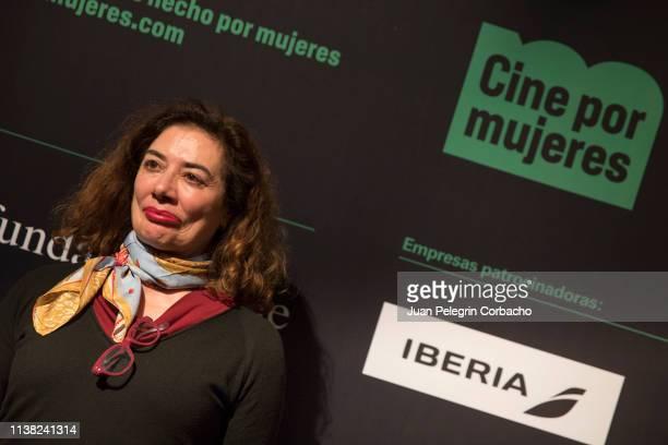 Chus Gutierrez film director attends the inauguration of 'Cine Por Mujeres' Festival at Palacio de la Prensa on March 25 2019 in Madrid Spain