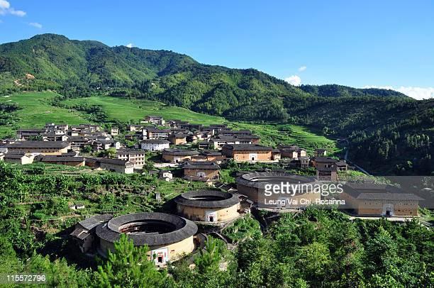 Chuxi Tulou cluster, Fujian, China