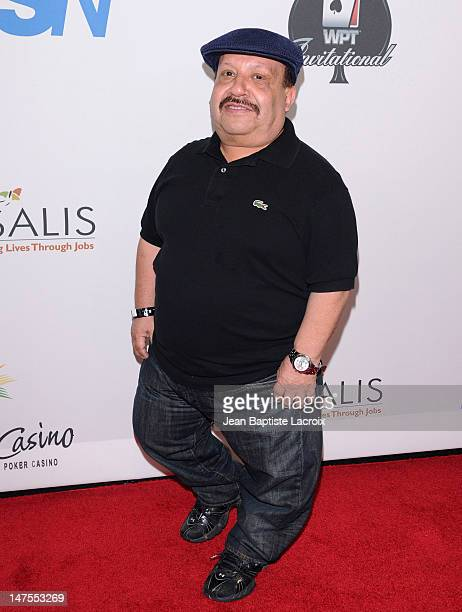 Chuy Bravo arrives at the 8th Annual World Poker Tour Invitational at Commerce Casino on February 20, 2010 in City of Commerce, California.