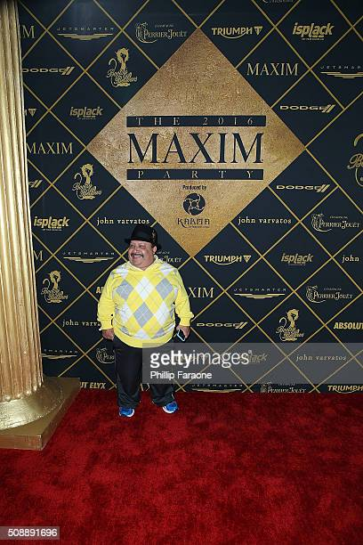 Chuy Bravo attends Maxim Magazine and Bootsy Bellows Super Bowl Party 2016 at Treasure Island on February 6, 2016 in San Francisco, California.