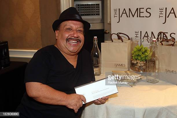 Chuy Bravo attends the HBO Luxury Lounge in honor of the 64th Primetime Emmy Awards held at Four Seasons Hotel Los Angeles at Beverly Hills on...