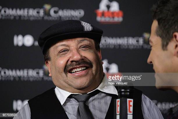 Chuy Bravo attends the Kardashian Charity Knock Out at the Commerce Casino on November 3, 2009 in Los Angeles, California.