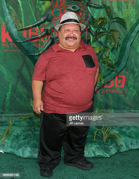 Chuy Bravo attends the premiere Focus Features' 'Kubo and The Two Strings' on August 14, 2016 in Universal City, California.