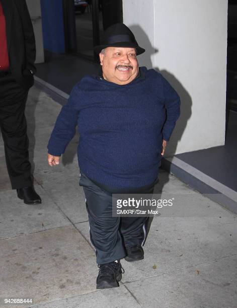 Chuy Bravo is seen on April 5, 2018 in Los Angeles, CA.