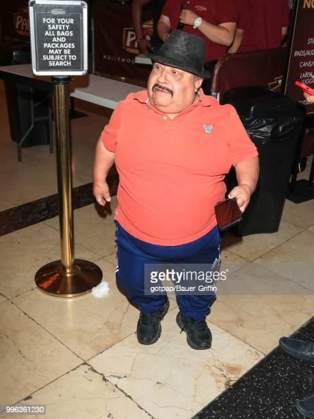 Chuy Bravo is seen on July 10, 2018 in Los Angeles, California.