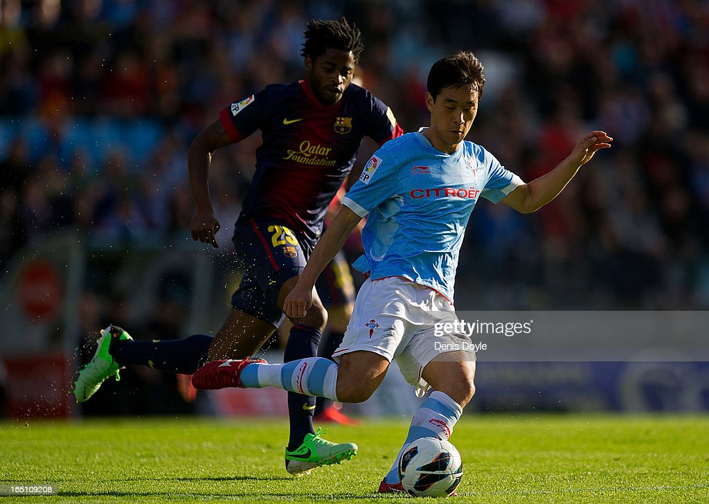 RC Celta de Vigo v FC Barcelona - La Liga : News Photo