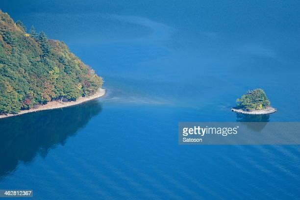 chuzenji lake - nikko city stock pictures, royalty-free photos & images