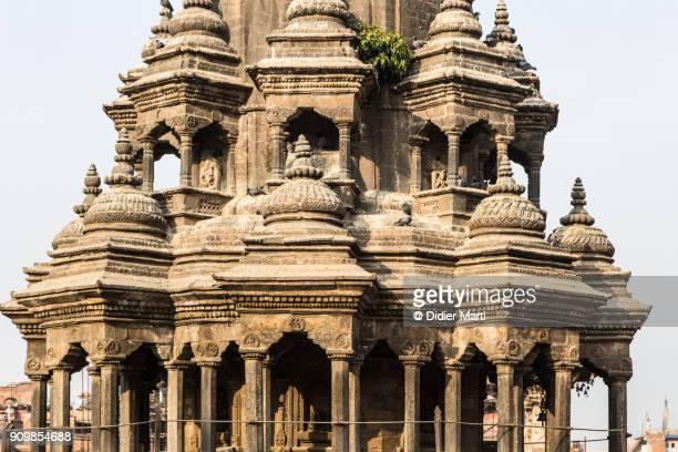 Chyasim Deval Krishna Temple in the Durbar square in Patan, Nepal