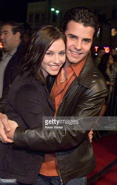 Chyler Leigh and Nathan West at FOXTV's party for the Television Critics Association at Highland's in Los Angeles Ca Friday Januaary 11 2002 Photo by...