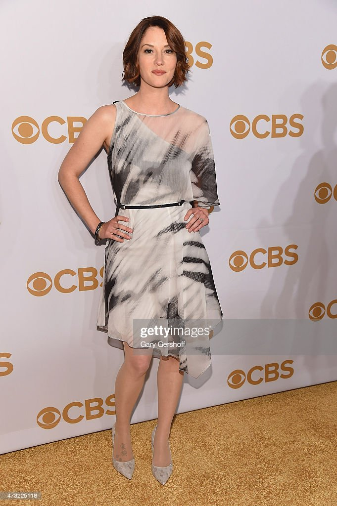 Chyler Leigh attends the 2015 CBS Upfront at The Tent at Lincoln Center on May 13, 2015 in New York City.