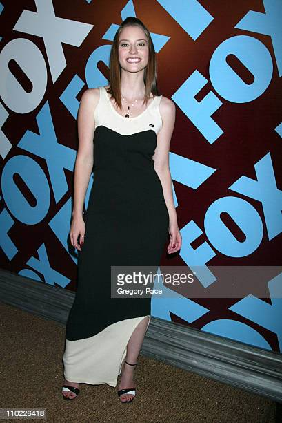 Chyler Leigh during 2005/2006 FOX Prime Time UpFront Inside Green Room and Party at Seppi's Restaurant and Central Park Boathouse in New York City...