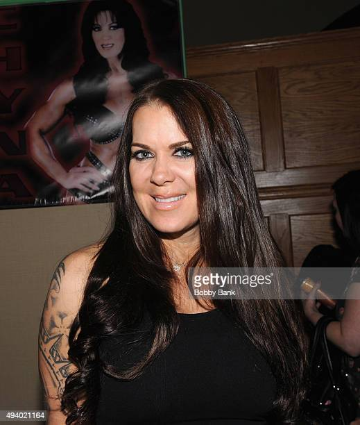 Chyna attends the Chiller Theatre Expo Day 1 at Sheraton Parsippany Hotel on October 23 2015 in Parsippany New Jersey