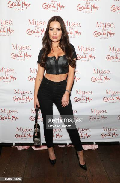 Chyna Ellis attends the launch of Muse by Coco De Mer at Sketch on January 23 2020 in London England