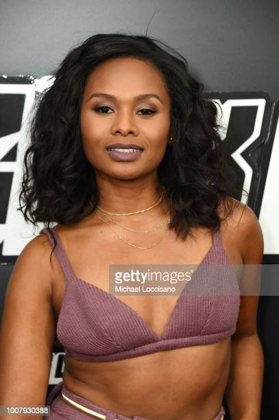 Chyna Layne attends the BlacKkKlansman New York Premiere at Brooklyn Academy of Music on July 30 2018 in New York City