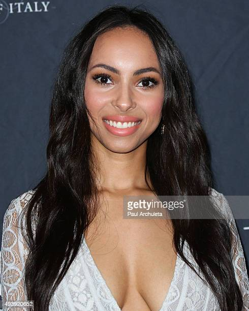 Chyna Rose Stevens attends Star Magazine's Scene Stealers party at The W Hollywood on October 22 2015 in Hollywood California