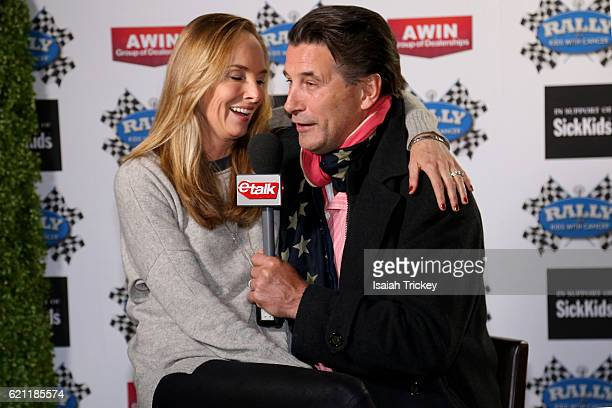 Chynna Phillips and actor Billy Baldwin attend the 9th annual Rally For Kids With Cancer Scavenger Cup Qualifiers Celebrity Draft Party at Cactus...