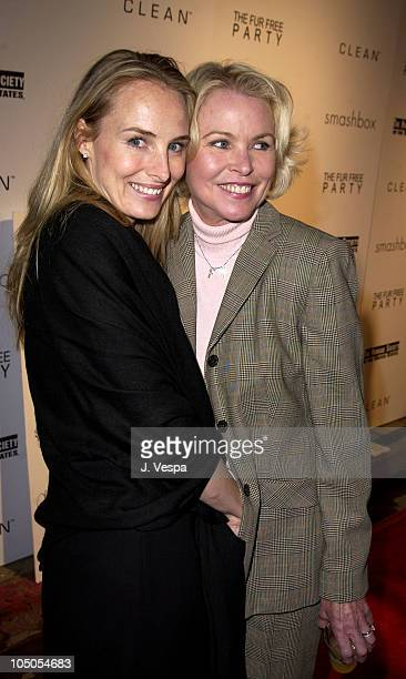 Chynna Phillips and Michelle Phillips during Smashbox Fashion Week Los Angeles Clean Presents The Fur Free Party at Smashbox Studios in Culver City...