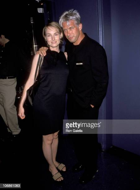 Chynna Phillips and Stephen Baldwin during Party for the Carol M Baldwin Breast Cancer Foundation Celebrity Golf Tournament at China Club in New York...