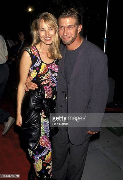 Chynna Phillips and Stephen Baldwin during World Premiere of 'Malice' September 29 1993 at Academy Theater in Beverly Hills California United States