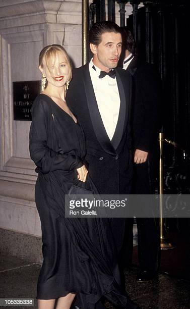 Chynna Phillips and William Baldwin during Wedding of Mariah Carey and Tommy Mottola at St Thomas Episcopal Church/Metropolitan Club in New York City...
