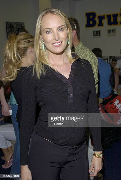 Chynna Phillips during Gibson/Baldwin Presents Night at the Net at the 78th Annual MercedesBenz Cup Benefiting MUSICARES Foundation Press Room in...