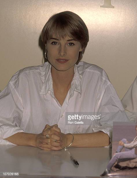 Chynna Phillips during Wilson Phillips Signs their New Album Wilson Phillips at Tower Records in Hollywood July 9 1990 at Tower Records in Hollywood...