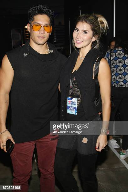 Chyno Miranda attends the iHeartRadio Fiesta Latina Celebrating Our Heroes at American Airlines Arena on November 4 2017 in Miami Florida