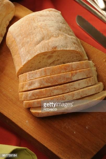 Ciabatta Morbita Typical Italian Bread Italy Europe