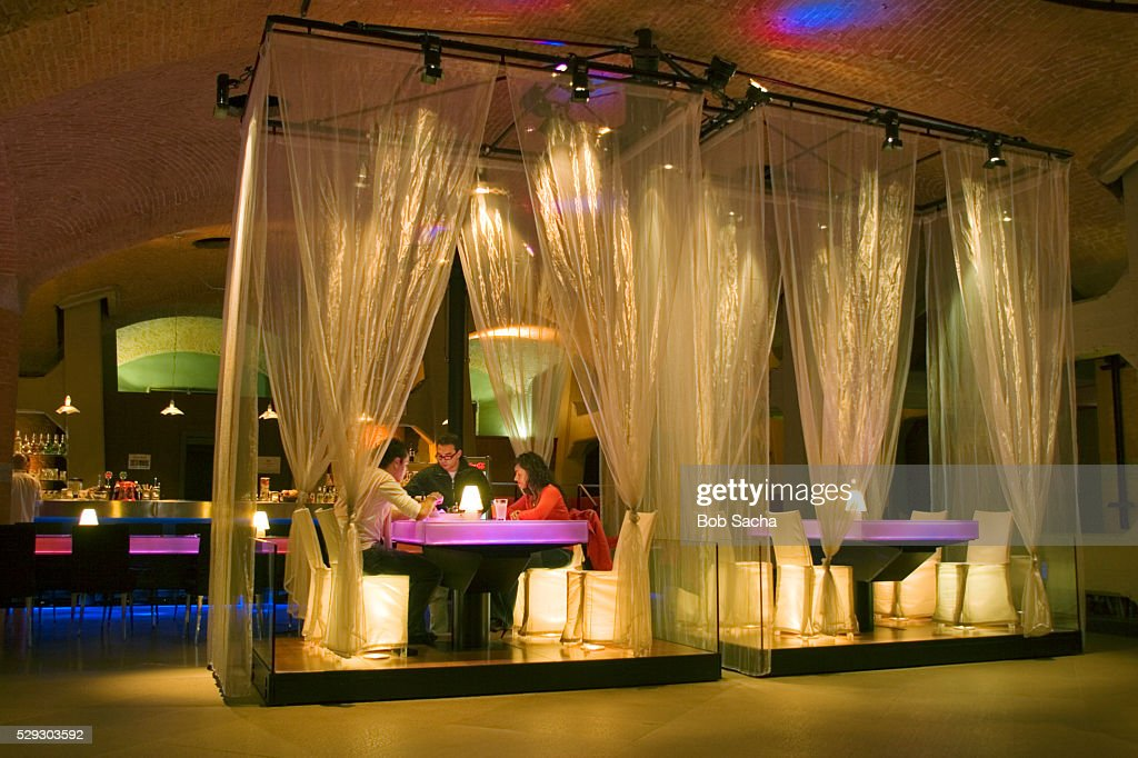 Museo Del Cinema.Ciak Bar At The Museo Nationale Del Cinema Stock Photo Getty Images