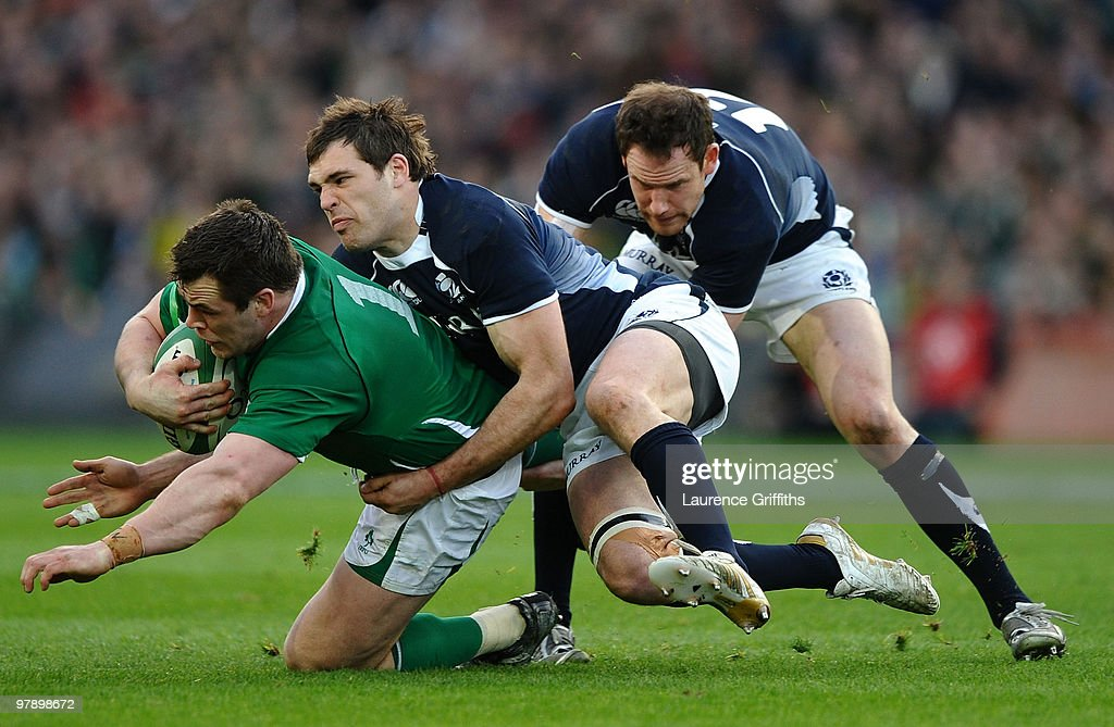 Ireland v Scotland - RBS Six Nations : News Photo