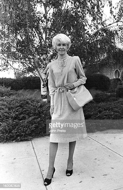 AUG 12 1981 SEP 22 1981 SEP 27 1981 Ciao's gray angoranylon blend sweater dress is softly bowed at the high neckline waistline