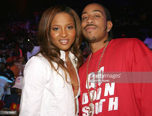 Ciara and Ludacris during The 2004 Source Awards Inside at James E Knight Theater in Miami Florida United States