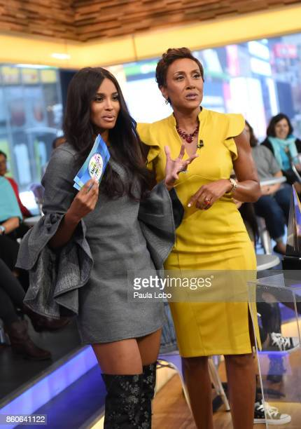 AMERICA Ciara announces the American Music Awards nominations live on 'Good Morning America' on Thursday October 12 airing on the ABC Television...
