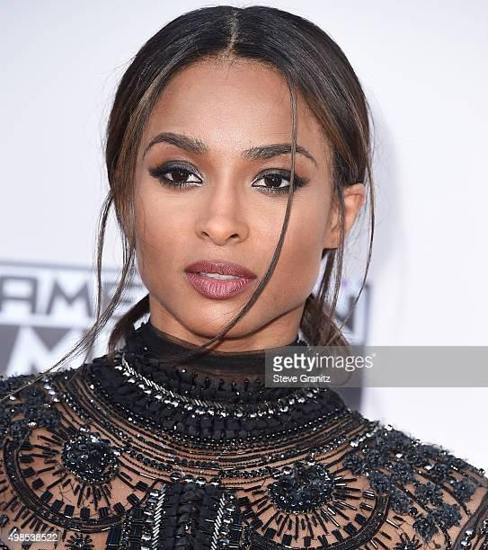 Ciara arrives at the 2015 American Music Awards at Microsoft Theater on November 22, 2015 in Los Angeles, California.